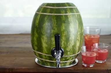 Draft Beer Faucet e Watermelon Keg