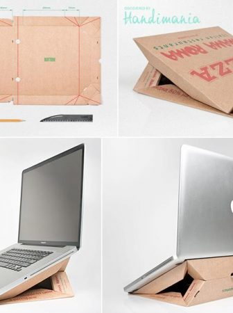 "Laptop Stand ""Pizza"""