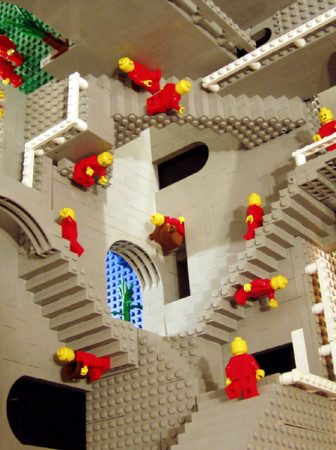 Escher in Lego