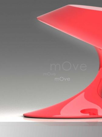 mOve, la lampada in movimento