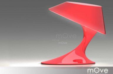 mOve, la lampada in movimento