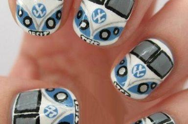 Volkswagen Nail Art