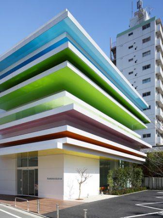 'Rainbow Bank' in Shimura, Tokyo