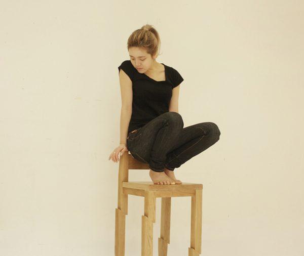 Samurai Chair di Seo Young Moon