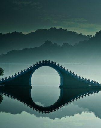 Moon Bridge in Taiwan
