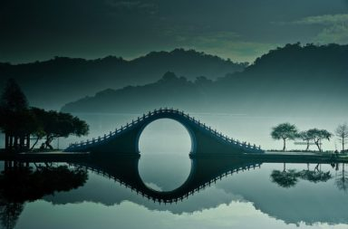 Moon Bridge in Taiwan