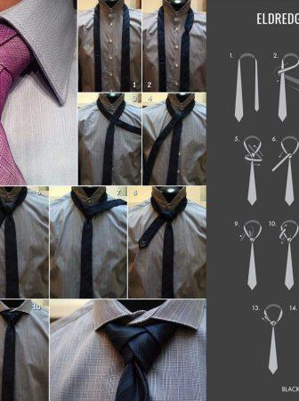 Necktie Eldredge Knot