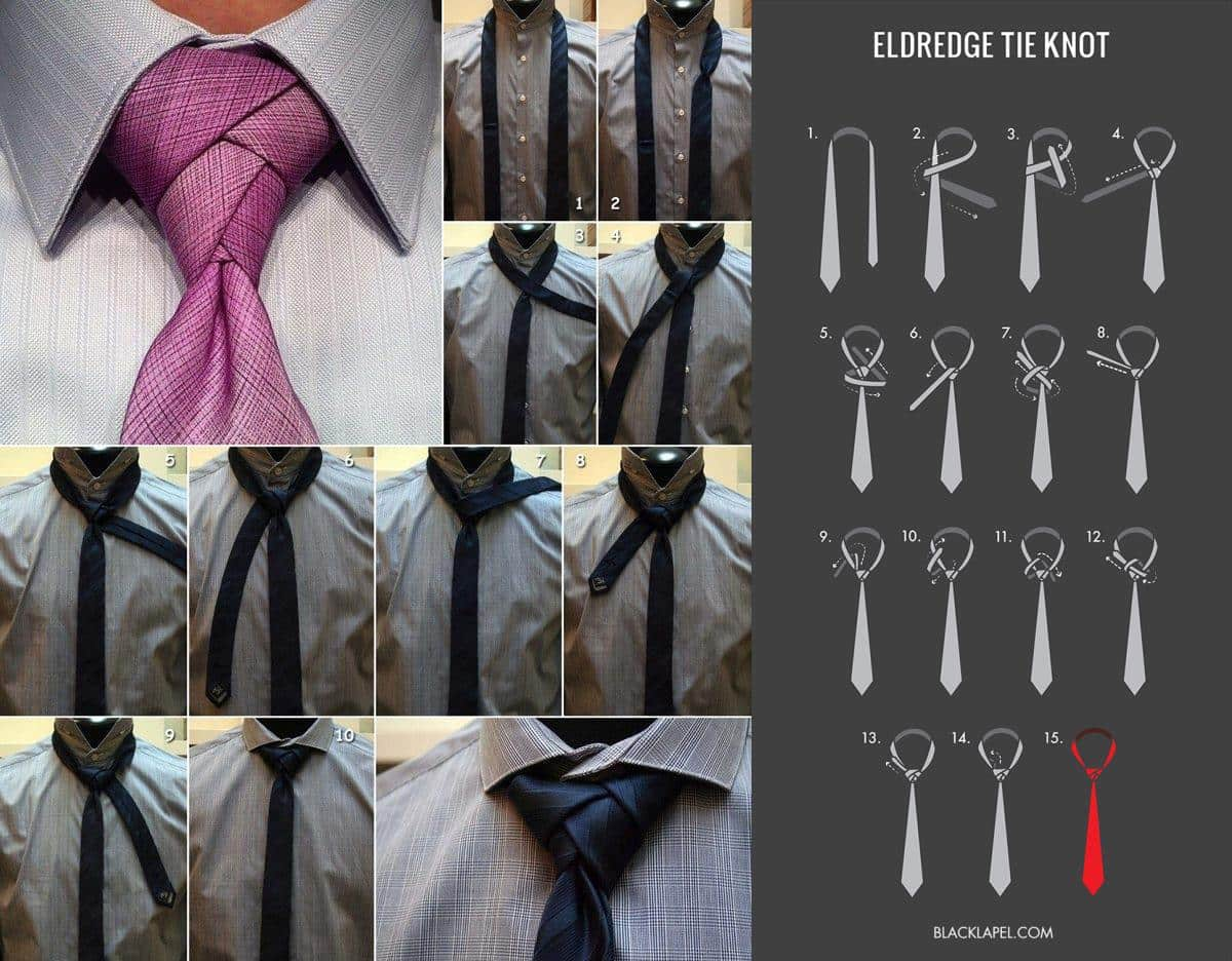 Necktie Eldredge Knot - Design Miss