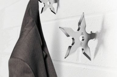 Spinning Hat Ninja Coat Hook