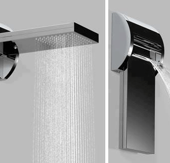 Waterfall Shower by Bossini