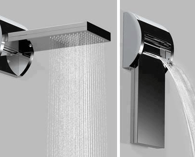 Waterfall Shower by Bossini - Design Miss