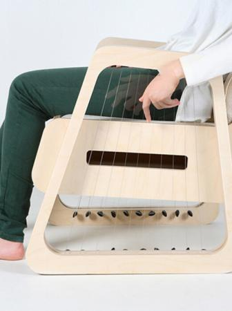 Echoism: Guitar Chair