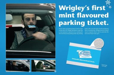Adv Extra: Mint Parking Ticket