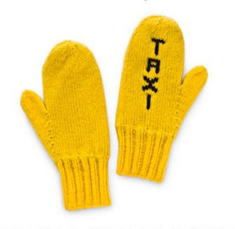 Taxi Mittens