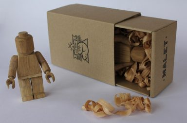 LEGO Made of Wood