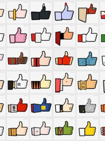 Superheroes Facebook Like Button