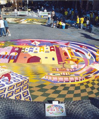 Flowers and Art: Infiorata del Palio di Fabriano