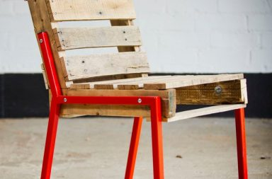 Pallet Chair – Steel Legs