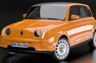 Restyling Renault 4 by David Obendorfer