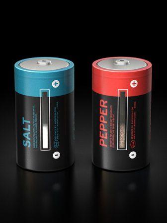Batterie Sale e Pepe Dispenser