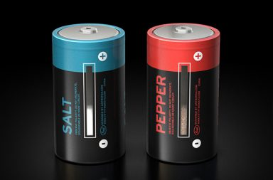 Batterie Sale e Pepe Dispenser