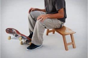 Nollie Flip Stool by Skate-Home