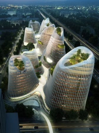 Taichung Convention Center MAD Architects