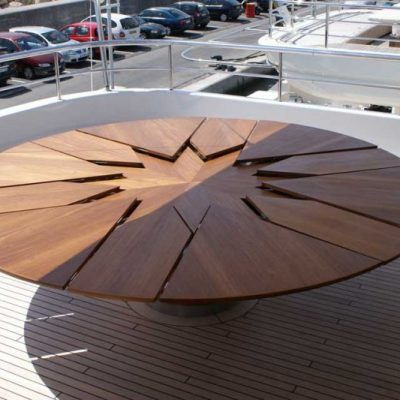 The fletcher capstan table design miss for Tavolo espandibile