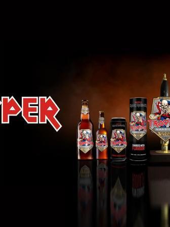 Trooper la birra degli Iron Maiden