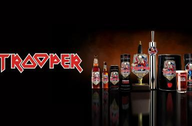 Trooper la birra degli Iron Maiden