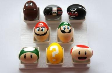 Uova di Super Mario per una Pasqua fai da te