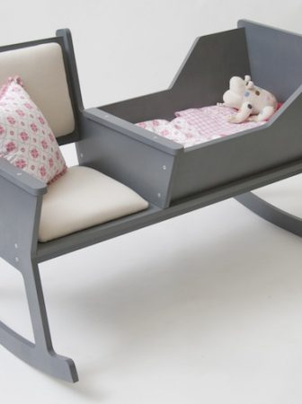 Rockid Cradle and Rocking Chair in One