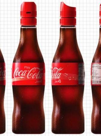 Coca Cola Music Bottle