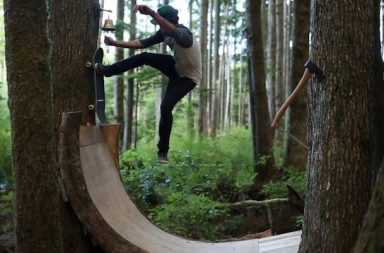 Skateboarding: Into The Thicket – Skating in the Forests of Vancouver