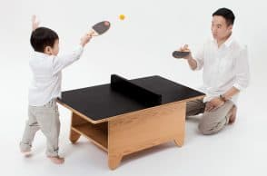 Tiny Ping Pong Table