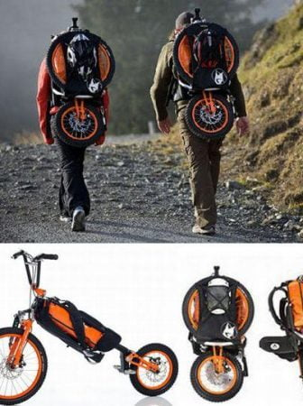 The Folding Bike Bag, by Bergmonch