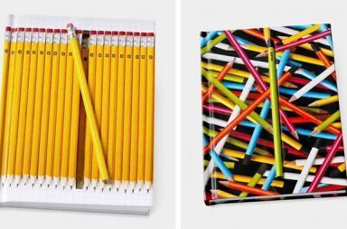 Hidden Pencil Notebooks