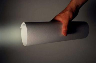 Paper LED torch light