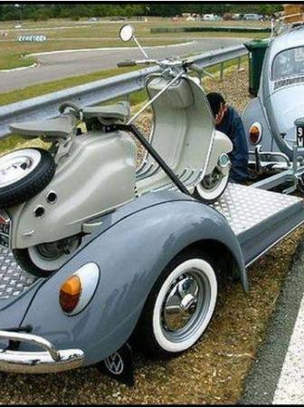 VW Beetle scooter Trailer