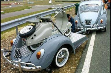 VW Beetle scooter Trailer