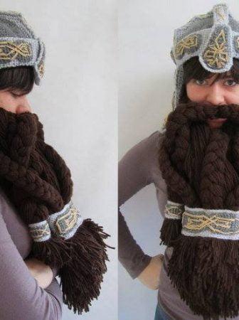 Gimli Helmet and Beard
