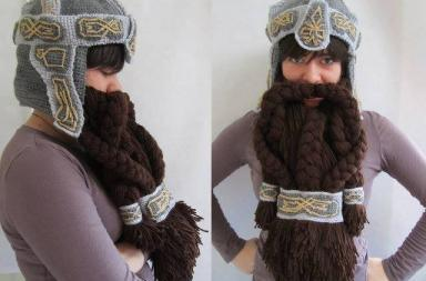 Gimli Helmet and Beard