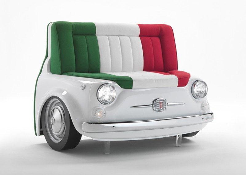 Sof panorama design miss - Fiat 500 divano ...