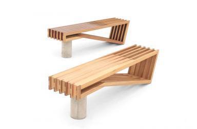 PINCH bench by Sawdust Bureau
