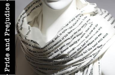 Book on the scarf