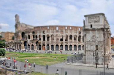 Tilt Shift – time-slice photos of Famous Places as Miniatures