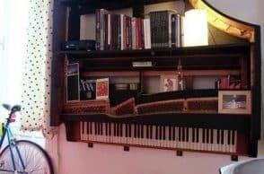 Bookcase Piano