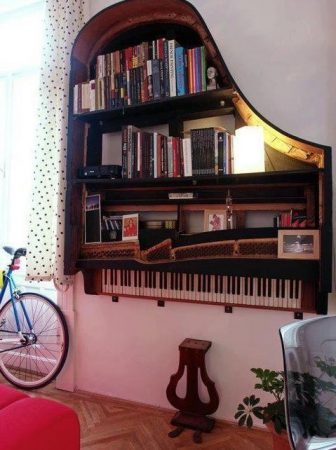 Bookcase Piano