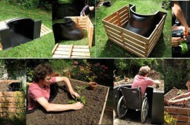 Terraform, handicap garden