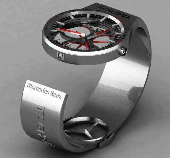Tag heuer formula 1 watch mercedes benz by peter vardai for Mercedes benz formula 1